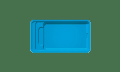 piscine coque avec petits bassins
