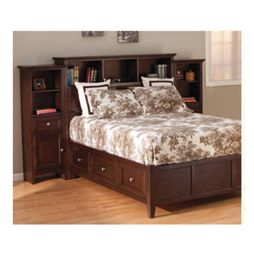 McKenzie Bookcase Storage Bed  Generations Home Furnishings
