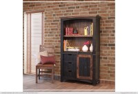 Pueblo Barn Door Bookcase | Generations Home Furnishings