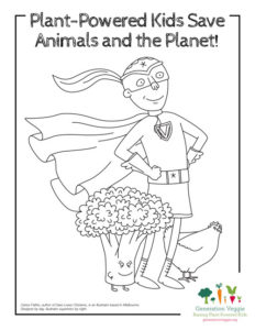 Generation Veggie Coloring Sheets are Now Available