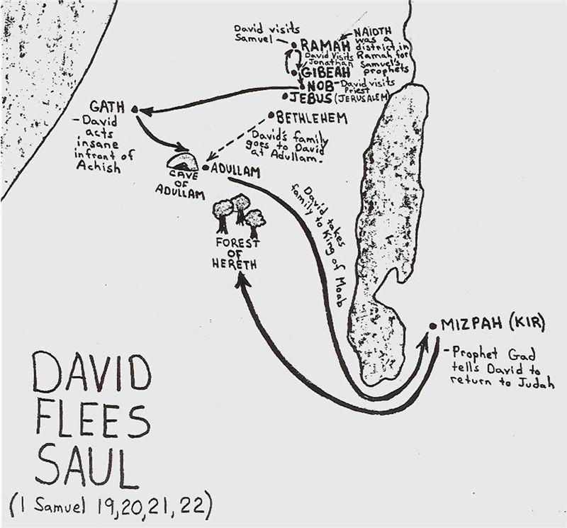First Samuel 19:1-24