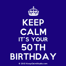 50th Birthday From Keep Calm Studio.com