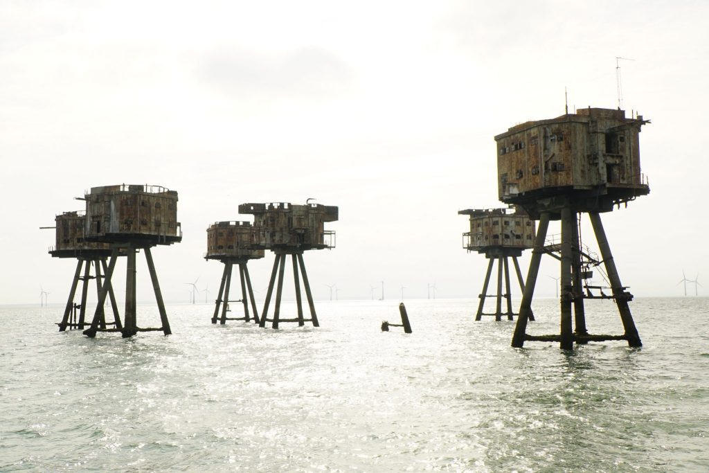 Shivering Sands Fort - one of the Maunsell Forts
