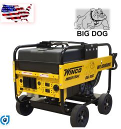 save big now winco wl18000ve industrial portable generator with electric start battery included 18 000 maximum watts 15 000 continuous watts  [ 1600 x 1600 Pixel ]
