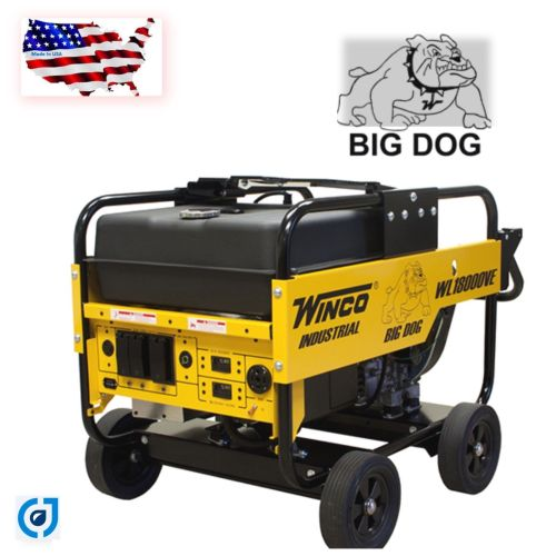 small resolution of save big now winco wl18000ve industrial portable generator with electric start battery included 18 000 maximum watts 15 000 continuous watts
