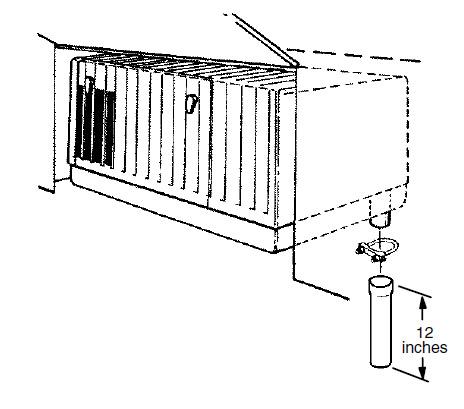Cummins Onan Exhaust Tube 12 Inch 155-2850: Emergency