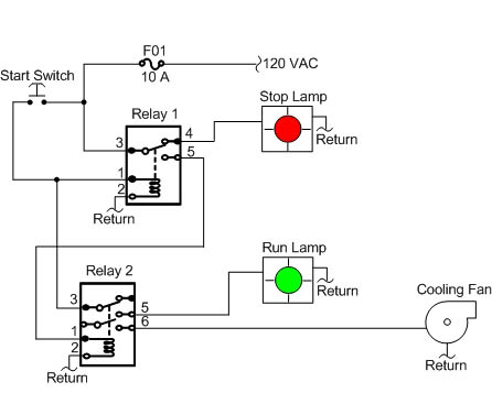 Wiring Manual PDF: 120 Vac Relay Wiring Diagram