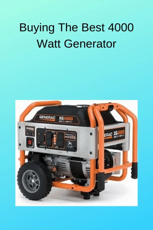 small resolution of generac 4000xl part