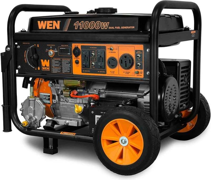 WEN DF1100T 11,000-Watt 120V/240V Portable Generator