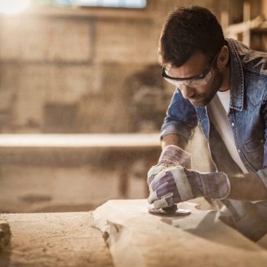 Woodworking Man