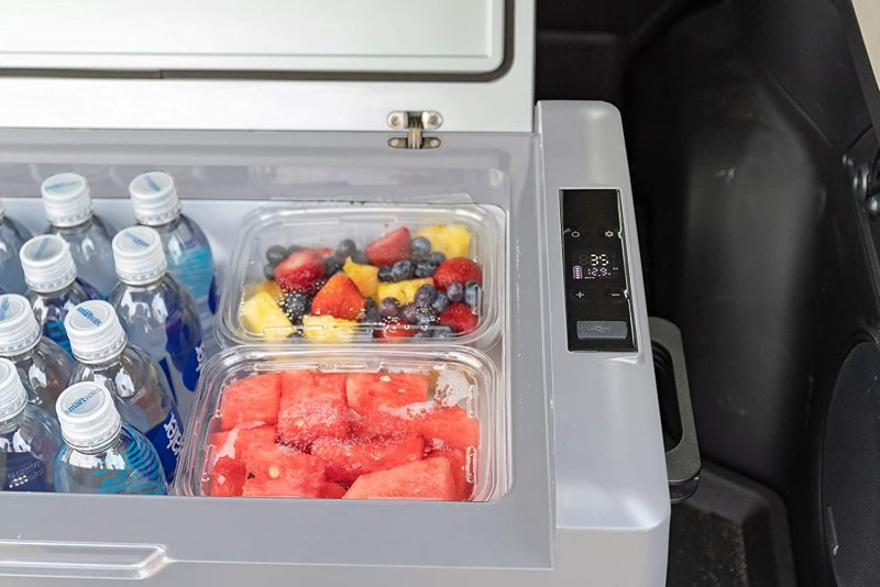 portable refrigerator for camping