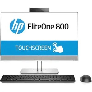 "LCDPC M-TOUCH HP ELITE 800 G4 4KX02ET GRAY 23.8"" FHD IPS I5-8500 8GB DDR4 1TB W10PRO ODD CAM DP HDMI WIFI BT 7USB GLA"