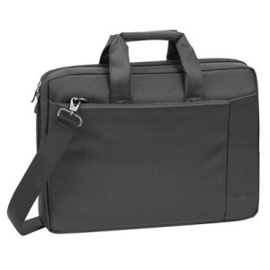 "BORSA NB 15.6"" RIVACASE 8231 BLACK MOD. CENTRAL - POLIESTERE - COLORE NERO - 385X265X45 EAN: 6901801082315"