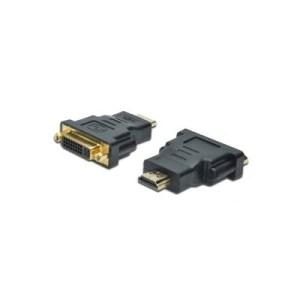 ADATTATORE HDMI 19POLI /DVI-D24+5 M/F DIGITUS AB556 NERO EAN: 4016032296195