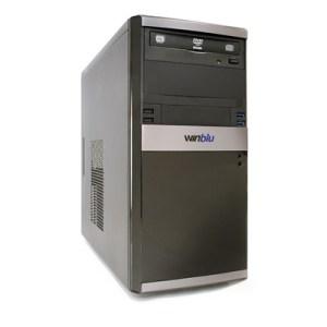 PC WINBLU ENERGY L3 4055 H310 INTEL I3-8100 8GBDDR4-2400 1TBSATA DVDRW VGA+DVI-D PCI-E T+M FREEDOS 2Y