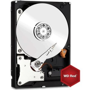 """HARD DISK SATA3 3.5"""" X NAS 6000GB(6TB) WD60EFRX WD RED 64MB CACHE INTELLIPOWER"""