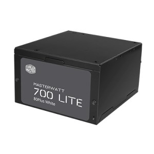 ALIMENTATORE ATX 700W COOLERMASTER MASTERWATT LITE 700 MPX-7001-ACABW-EU 80+EU 230V FAN120MM 150X140X86MM CAVO EU