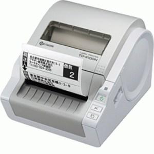 STAMPANTE X ETICHETTE BROTHER TD-4100N TRASFERIMENTO TERMICO USB SER LAN ETICH FINO A 102MM. INCL CAVO ALIM