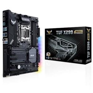 MB ASUS TUF X299 MARK 2 LGA2066 X299 8XD4-4000O.C. 3PCIE3.0X16 6XSATA3RAID M.2 GLAN USB3.1 AURA ATX 90MB0UB0-M0EAY0