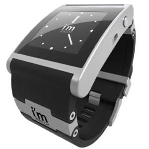 Smartwatch I'm Watch Black Imwalb02c02 X Smartphone/tablet Android-blackberry-ios