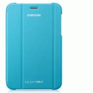 """Custodia Samsung Efc-1g5slecstd A Libro Rigida Per """"galaxy Tab 2 7.0"""" - Azzurro"""