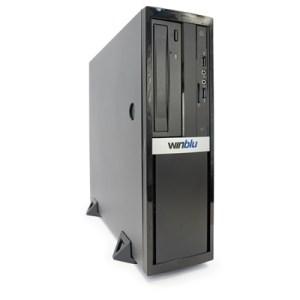 Pc Winblu Essential L5 0384 Sff 13lt H310 Intel I5-9400f 8gbddr4/2666 256ssd Dvdrw+cr Gt710/1g Freedos T+m 2y
