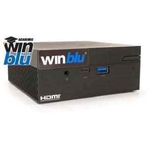 Mini-pc Winblu Easy L7 0613w10aca 0.65lt Intel I7-8565u 8gbddr4 256ssd Glan+wifi+bt W10pro Academic/64 T+m 2y On Site