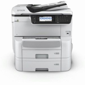 Stampante Epson Mfc Ink Workforce Pro Wf-c8690dtwf C11cg68401bb A3+ 4in1 35ppm 250fg+500fg Adf Lcd Usb Lan Wifi Direct Pcl