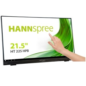 "Monitor M-touch Hannspree Lcd Led 21.5"" Wide Ht225hpb 7ms Mm Fhd 1000:1 Black Vga Hdmi Dp Vesa Fino:06/07"