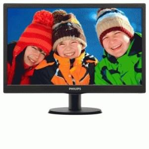 "Monitor Philips Lcd Led 19.5"" Wide 203v5lsb26/10 5ms Fhd 600:1 Black Vga Vesa  Fino:04/08"