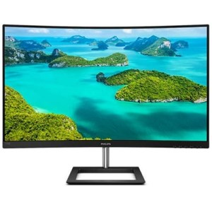 """Monitor Philips Lcd Va Curved Led 27"""" Wide 272e1ca/00 4ms Softblue Mm Fhd 3000:1 Black Vga Hdmi Dp Vesa 2y Fino:06/07"""