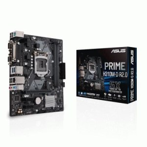 Mb Asus Prime H310m-d R2.0 H310 Lga1151 2xddr4dc-2666 D-sub Hdmi 1xpcie3.0x16 4xsata3 M.2 Gblan 4xusb3.0 Matx 90mb0yz0-m0eay0