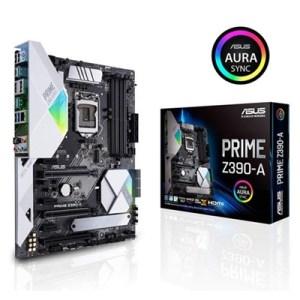 Mb Asus Prime Z390-a Z390 1151 4xddr4dc-4266o.c. Vga Hdmi Dp 2xpcie3.0x16 6xsata3raid M.2 Usb3.1 Atx 90mb0yt0-m0eay0