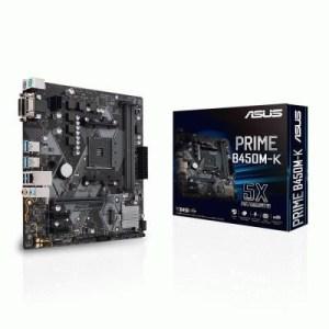 Mb Asus Prime B450m-k Lga Am4 B450 2xddr4dc-3200o.c. 1xpcie3.0x16 Vga 4sata3raid Dvi M.2 Gblan Usb3.1 Matx 90mb0yp0-m0eay0