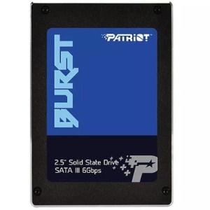 "Ssd-solid State Disk 2.5""  480gb Sata3 Patriot Pbu480gs25ssdr Burst Read:560mb/s-write:540mb/s"