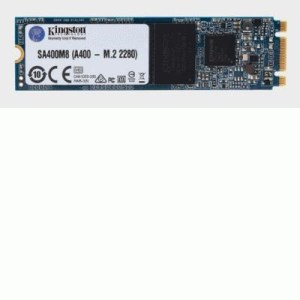 Ssd-solid State Disk M.2(2280)  120gb Sata3 Kingston Sa400m8/120g Read:500mb/s-write:320mb/s