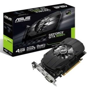 Svga Asus Ph-gtx1050ti-4g Nvidia Gtx1050 4gddr5 128bit Pcie3.0 Dvi-d Hdmi Dp Hdcp Opengl4.5 2 Slot 90yv0a70-m0na00