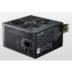 Alimentatore Atx 600w Coolermaster Mwe White Mpe-6001-acabw-eu Pfc Attivo 240vac Fan120mm Cavo Eu