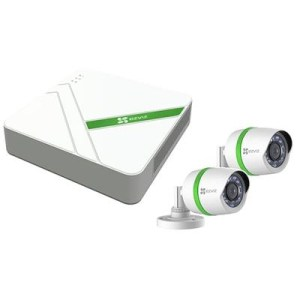 Kit Videosorveglianza Ezviz Cs-bt4-eu 4 Canali+2 Telec. Hd Mod.bullet + 1 Hdd 1tb Incl.cavi E Alimentatore  Fino:31/12