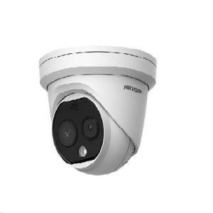 Videocamera Ip Termometrica Hikvision Ds-2td1217b-6pa Turret -risol.2688x1520 25fps Ott.fissa 8mm-risol.term.160x120 6mm