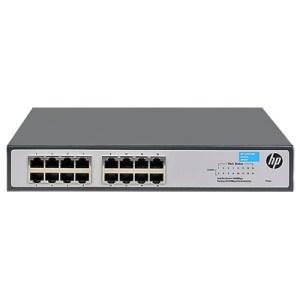 Switch Hp Jh016a 1420-16g Unmanaged 16xrj-45 Autosensing 10/100/1000 Ports Limited Lifetime Warranty Fino:31/07