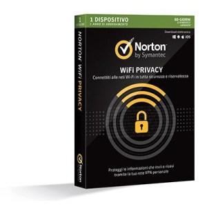 Norton Wifi Privacy -- 1 Dispositivo (21381428) X Windows/mac/android/ios