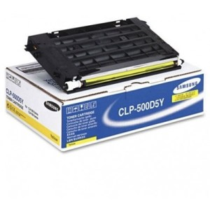 Toner Samsung Clp-500d5y Giallo X Cpl 500-550 Da 5000 Pag