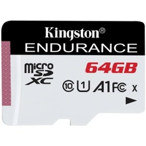 Micro Secure Digital  64gb Sdce/64gb Class10 Uhs-i C10 A1 Endurance Read:95mb/s Write:30mb/s Kingston