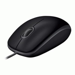 Mouse Logitech Oem B110 Silent Dark Optical Black Usb P/n 910-005508 1000dpi -garanzia 3 Anni-