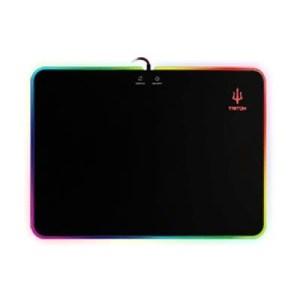 Mousepad Atlantis P002-gp35-led Con Luce Led Multicolore - Dim.350x250mm 5mm Spessore-antislittamento-ean: 8026974019864