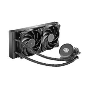 Diss A Liquido Cooler Master Mlw-d24m-a20pw-r1 Masterliquid Lite 240 Intel Lga 775>2066 Amd Am4>fm1 2x120x120x25mm 2000rpm >15db