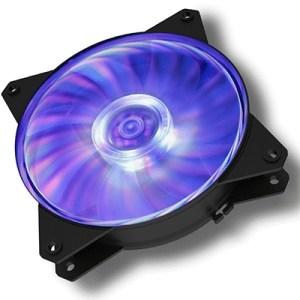 Ventola Per Case Cooler Master R4-c1ds-12fc-r2 Masterfan Mf121l Rgb 120x120x25mm 1200rpm 25dba 4pin Nera Gar2anni
