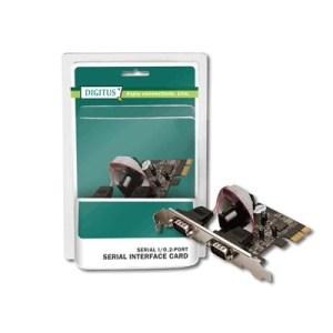 Scheda Interfaccia Pci-e Low Profile >2p Seriali Digitus Ds30000 - Ean: 4016032309390