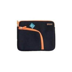 """Borsa Nb E Tablet 7"""" Atlantis P004-k837-a0-7  Mod. Philo-nera+zip Arancio-tasca Laterale Per Accessori  Ean 8026974016139"""